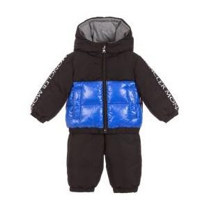 Black GERMONT Down Snowsuit