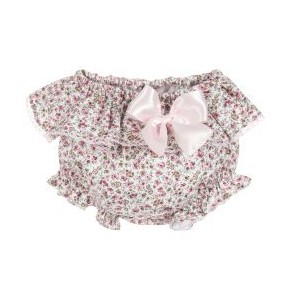 Girls Pink Cotton Bloomers