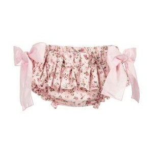Pink Floral Cotton Bloomers