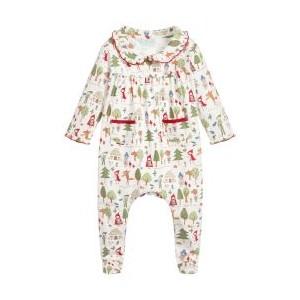 Baby Girls Cotton Babygrow