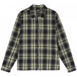 Gunn Plaid Zip Up L/Sl Shirt