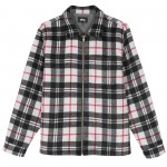 Brush Flannel Zip Shirt