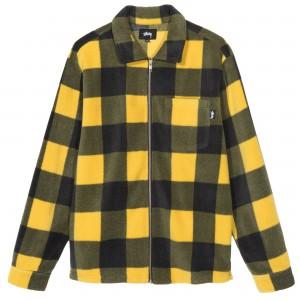 Polar Fleece Zip Up Shirt