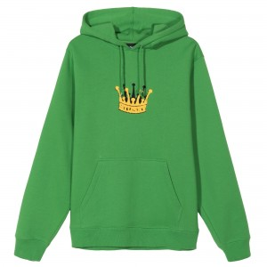 Chenille Crown Hood