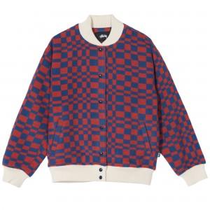 Sabi Checker Varsity Jacket