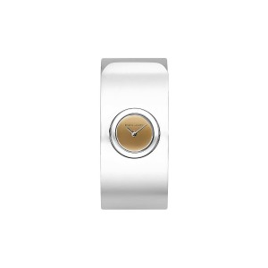 Hooked Stainless Steel Tone Bangle Watch, 18mm
