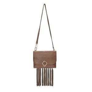 Isabel Large Shoulder Bag With Fringe