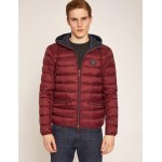 CLASSIC CIRCLE LOGO DOWN-FILL HOODED PUFFER