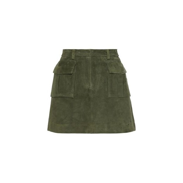 Lupah suede mini skirt