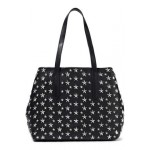 Sofia studded leather tote