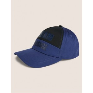COLORBLOCK TESSELLATED LOGO HAT