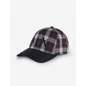 PLAID LOGO HAT