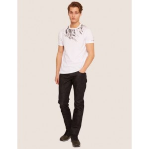 SLIM-FIT EAGLE FEATHER CREW