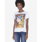 WOMENS STREET ART BY JISBAR CREWNECK TEE