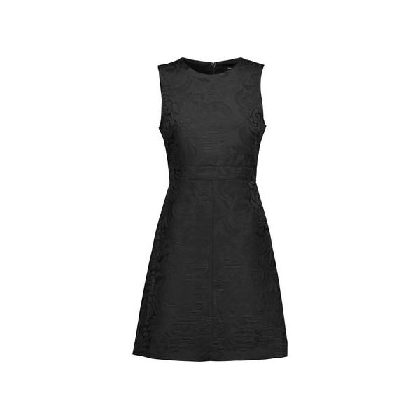 Raneid jacquard mini dress