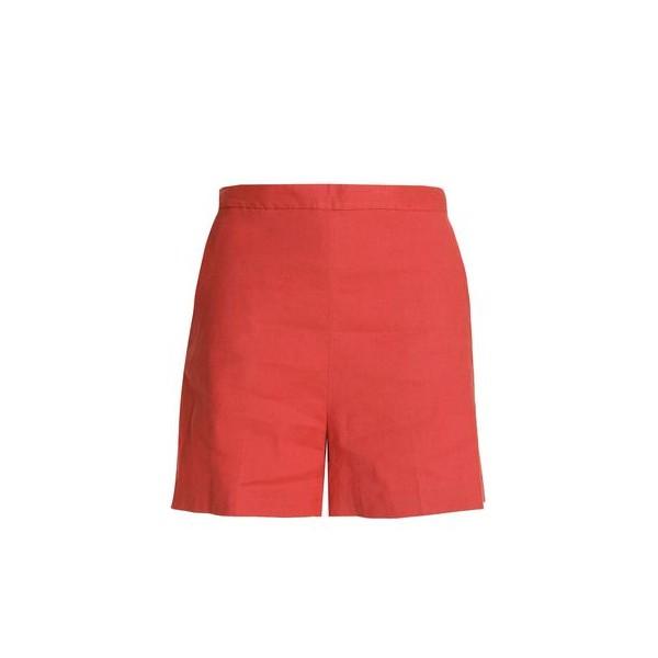 Tarrytown linen-blend shorts