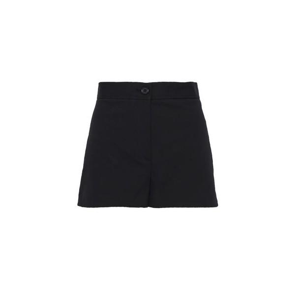 Cotton-blend canvas shorts