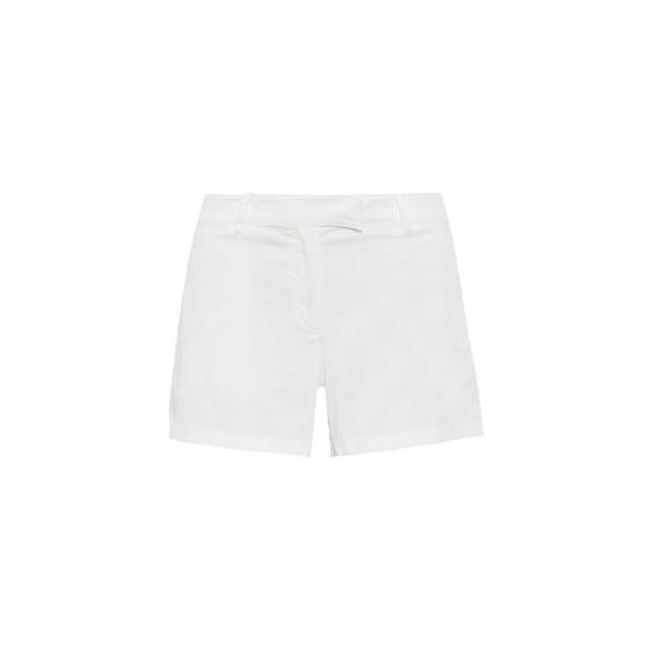 Bennie stretch-cotton twill shorts
