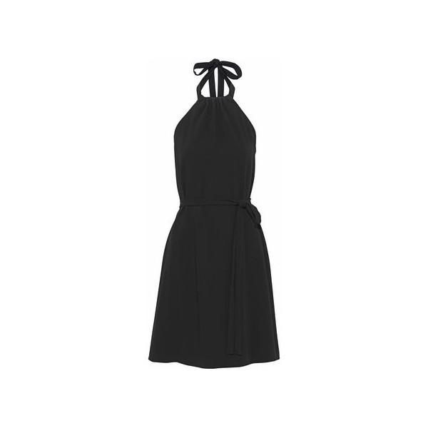 Nayline crepe halterneck dress