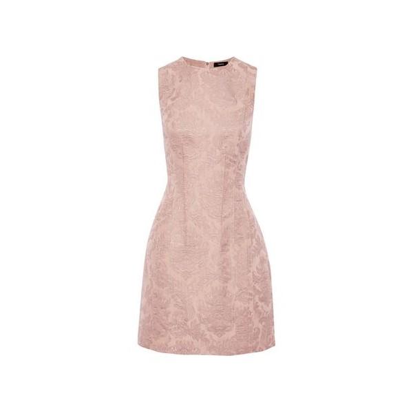 Hourglass brocade mini dress