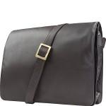 Womens Flap-over Shoulder Crossbody Bag and Messenger Bag