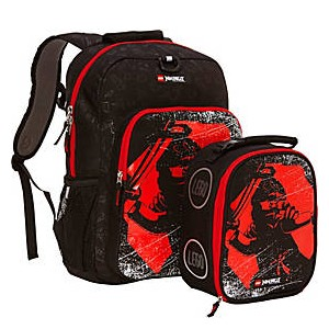 NINJAGO Red Ninja Backpack & Lunch