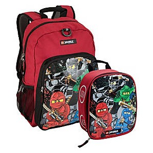 NINJAGO Team Backpack & Lunch