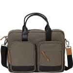 Single Compartment Briefcase for 15.6 Laptop