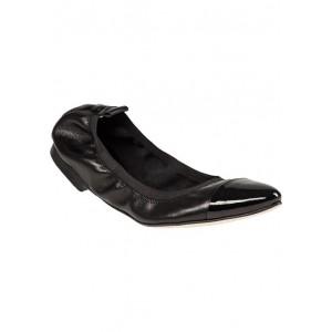 H062 Flat Black Leather