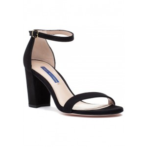 Nearlynude Sandal Black Suede