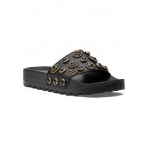 Carla Sandal Black Leather