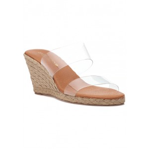 Anfisa Espadrille Wedge Clear