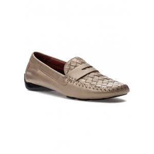 Petra Loafer Gold Leather