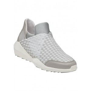 Quartz Grey Stretch Fabric Sneaker
