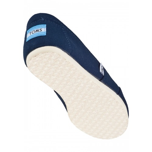 탐스 Classic Slip-On Navy Fabric