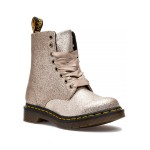 1460 Pascal Boot Pale Gold Glitter