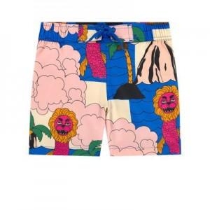 UV sun protection printed swim shorts