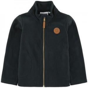 Zip fleece hoodie