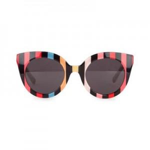 Stripe print sunglasses