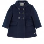 Straight fit coat