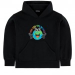 Printed hoodie You are the World