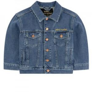 Print jean jacket