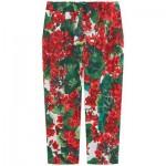 Mini Me print crop pants Portofino