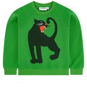 Graphic organic cotton sweatshirt
