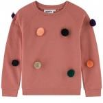 Sweatshirt with bobbles - Marcella