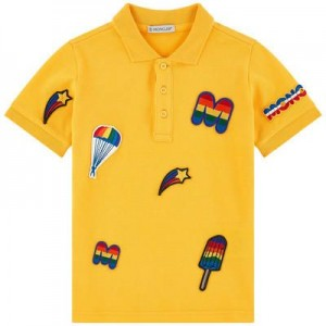 Polo with patches