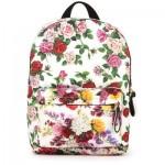 Flower print rucksack