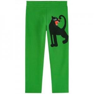 Graphic organic cotton tracksuit pants