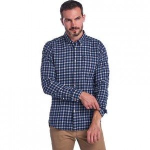 Gingham 16 Tailored Fit Shirt - Mens