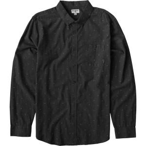 All Day Jacquard Long-Sleeve Shirt - Mens